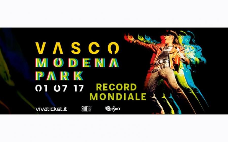Vasco Rossi in concerto al Modena Park