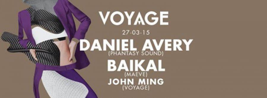 Torna Voyage al Tunnel Club con Daniel Avery e Baikal