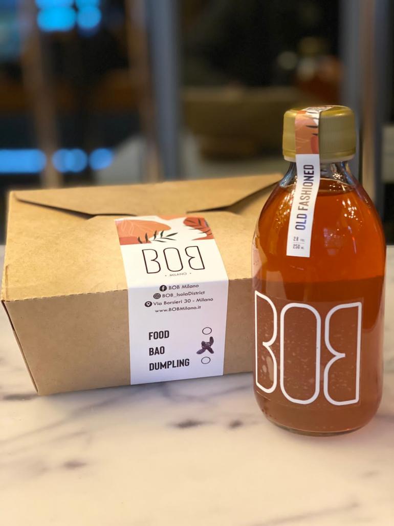 Cocktail e bao cinesi: il delivery di BOB Milano