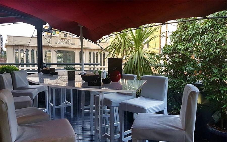 Riapre la terrazza del 55 Milano