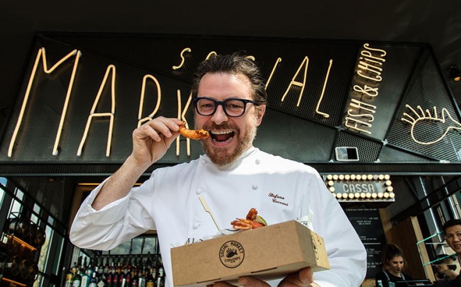 Social Market – Fish & Chips, Lo street food inglese alla conquista di Milano