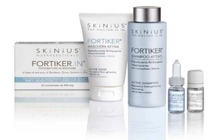 Fortiker, la nuova linea di prodotti per capelli firmata Skinius