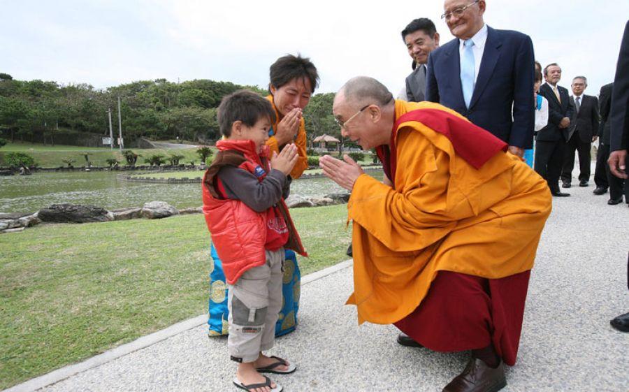 Il Dalai Lama a Milano