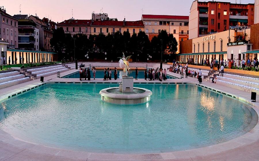 Jazz a bordo piscina ai Bagni Misteriosi di Milano