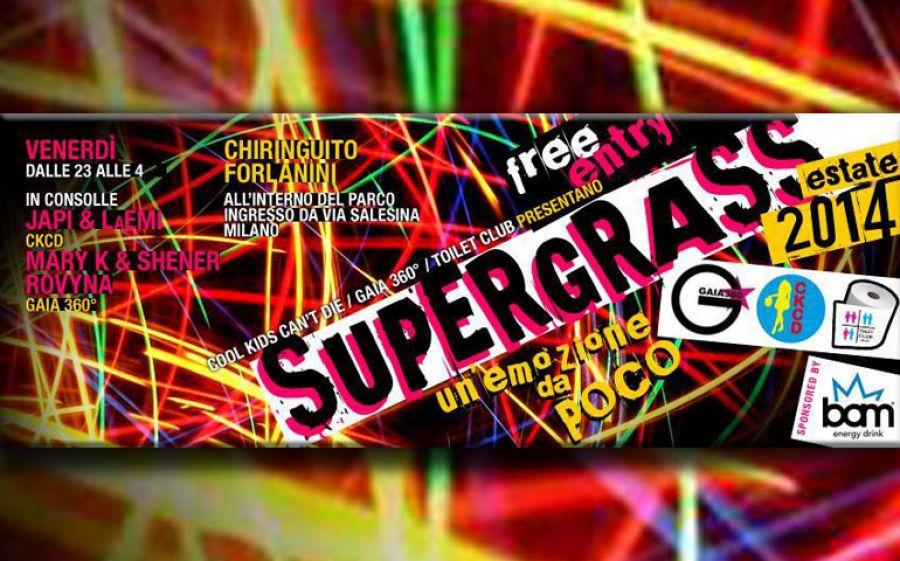 """Supergrass """"Un'emozione da poco"""" - venerdì 20 giugno 2014"""