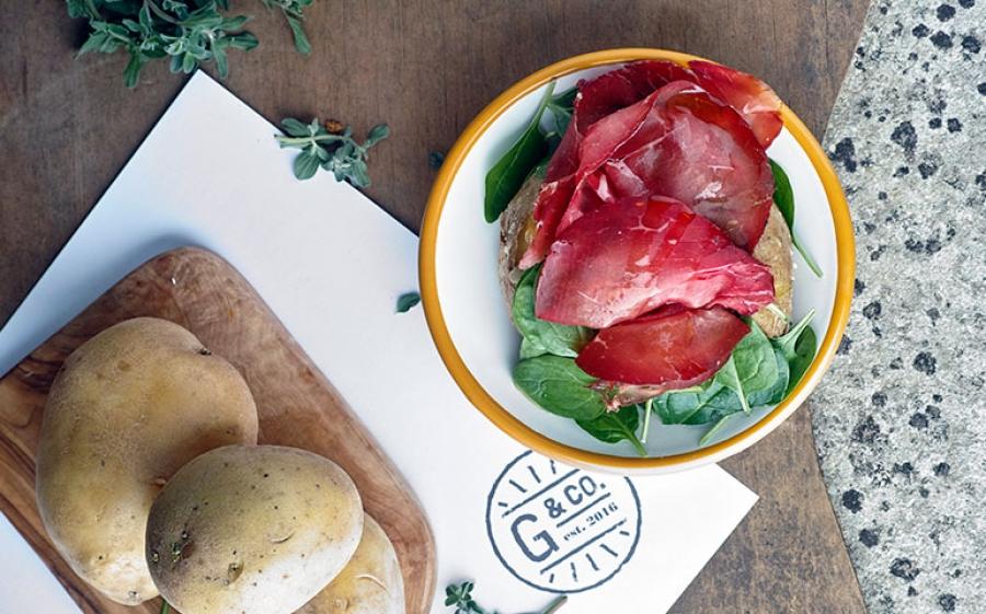 Gialle & Co, Il regno delle baked potatoes dal cuore tutto italiano