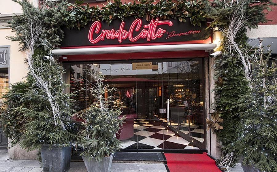 Crudocotto Wine Bar & Restaurant, la nuova officina di gusto firmata Rovagnati