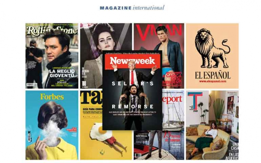 Magazine International di Luciano Bernardini de Pace ha acquisito Newsweek Media Group
