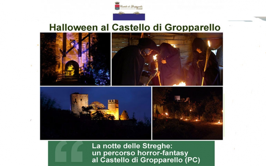 Castello di Gropparello: Halloween party e percorso horror-fantasy