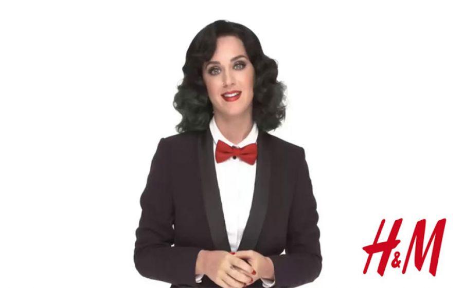 Katy Perry: nuova protagonista del natale H&M