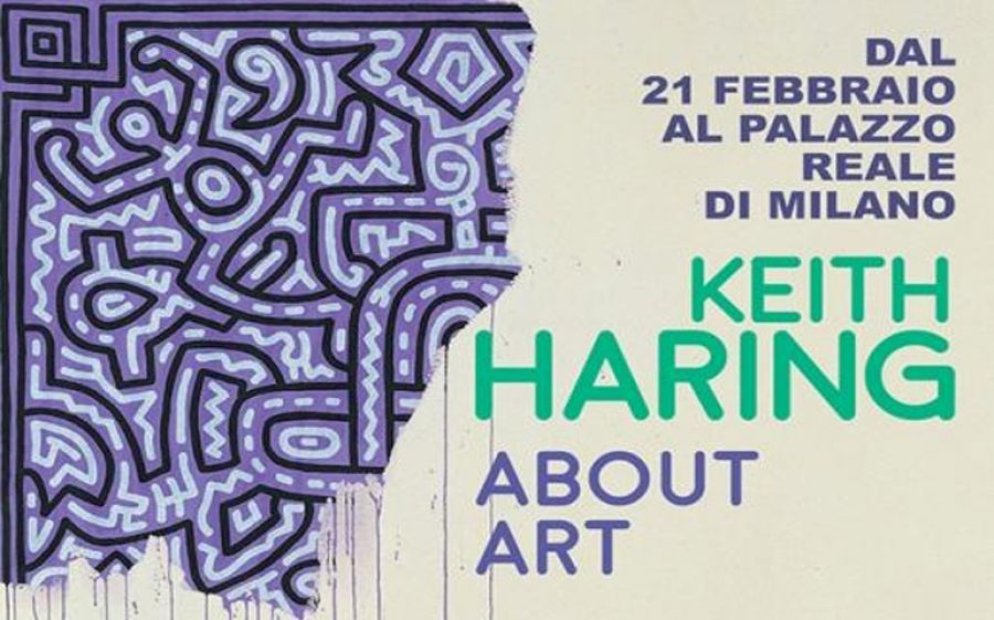Keith Haring a Milano con la mostra About Art a Palazzo Reale