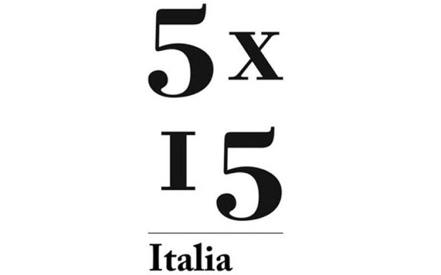 5x15:5 personaggi, 15 minuti ciascuno per una serata unica.