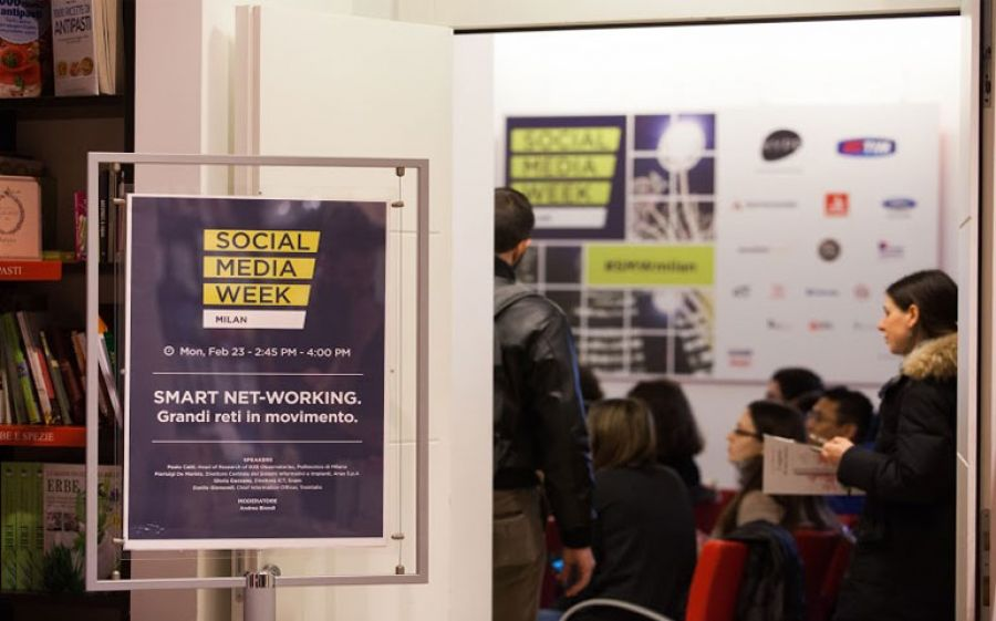 Torna a Milano la Social Media Week con un filone speciale dedicato al Food&Wine