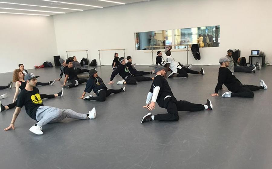 Street Intensive Program - domenica 8 aprile è la giornata hip hop presso l'accademia MoveOn di Milano