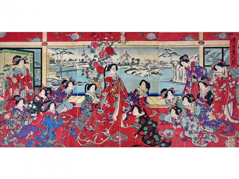 Il Giappone, terra di geisha e samurai, in mostra a Monza