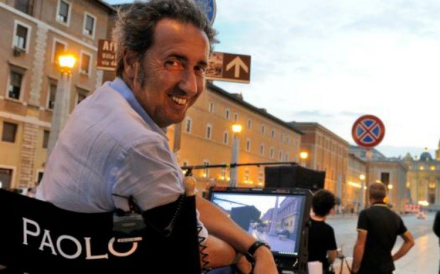 Il regista Paolo Sorrentino sul set di The young pope