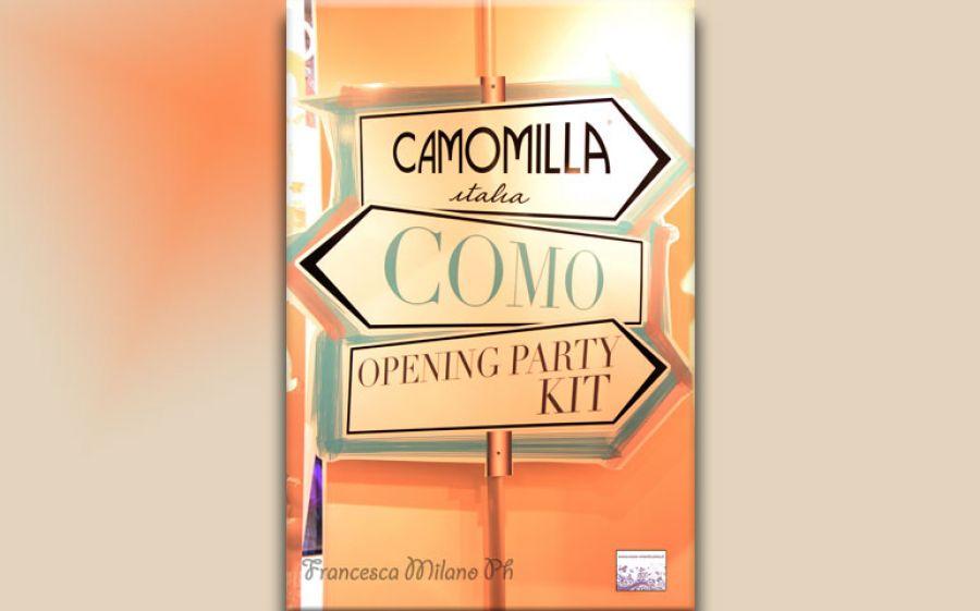 CAMOMILLA Italia apre a Como la nuova location