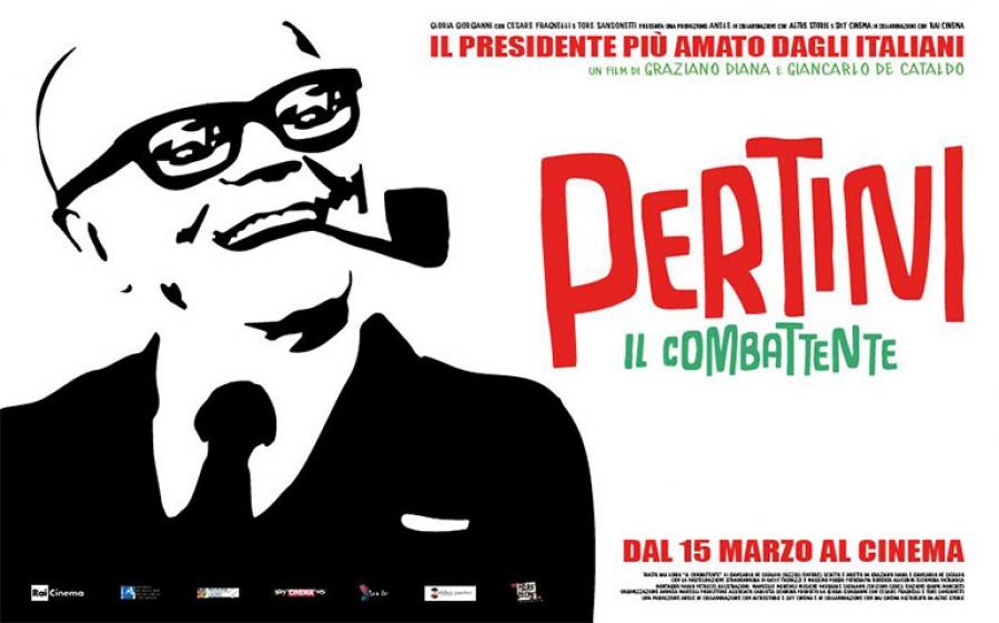 Pertini - il Combattente, di Graziano Diana e Giancarlo De Cataldo, dal 15 marzo al cinema