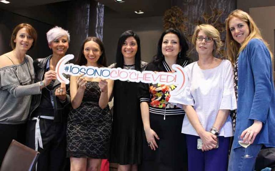 #iosonociòchevedi è la campagna di comunicazione sul valore dell'autenticità creata da Giovanna Vitacca e Daniela Pellegrini