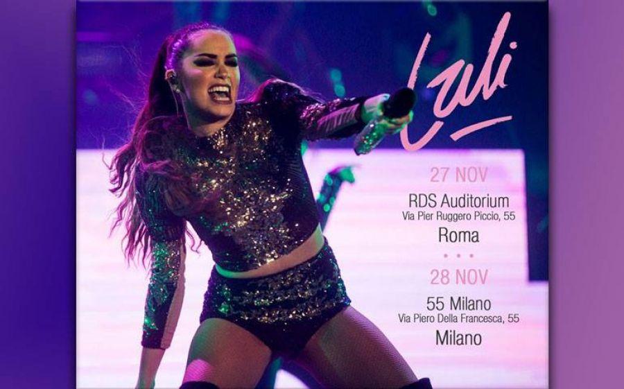 La star argentina Lali Esposito al 55 Milano