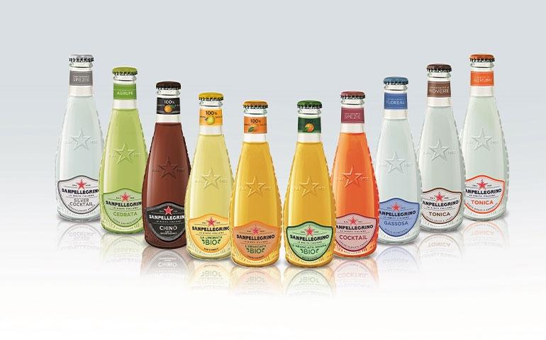 Le nuove bibite Sanpellegrino: linea bio e bottiglia in vetro