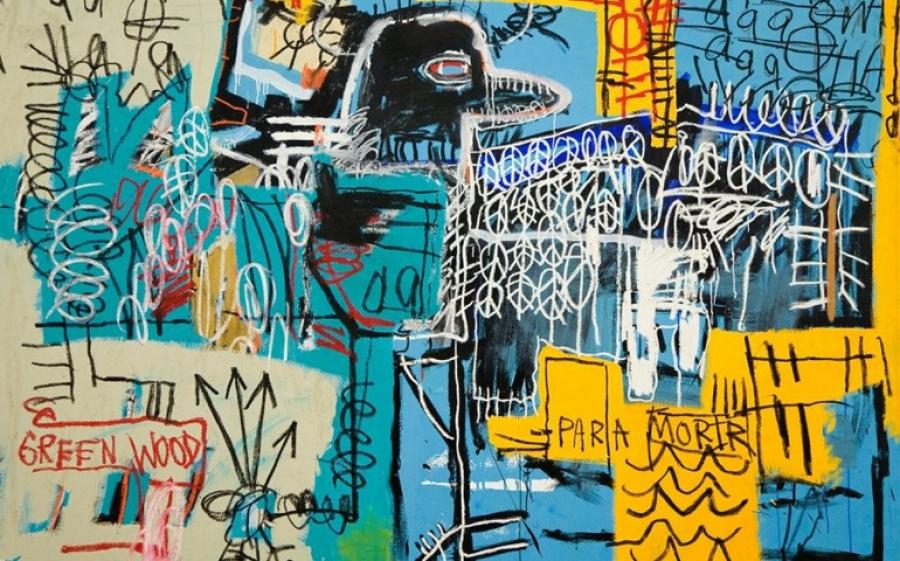 A Roma Basquiat in mostra al Chiostro del Bramante