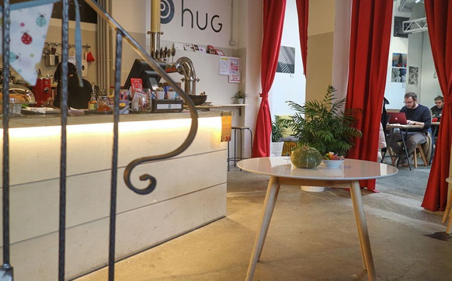Hug Milano, il nuovo spazio polifunzionale nel cuore di NoLo