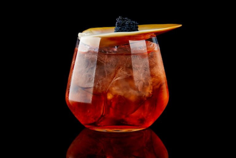 Il cocktail Le Thé en Rouge