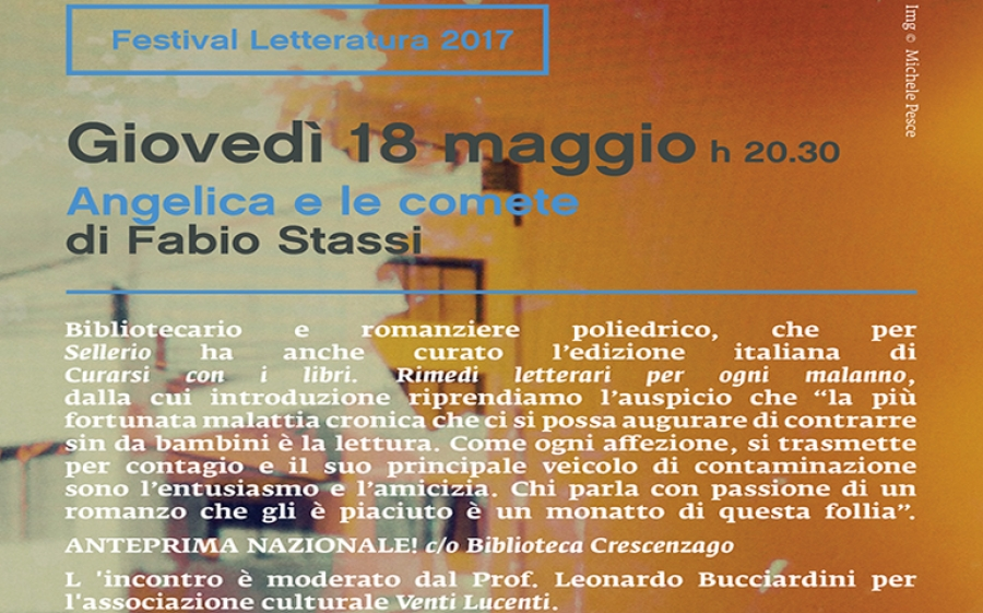 Festival della Letteratura 2017, dalla Biblioteca di Crescenzago al Giardino di Cascina Martesana