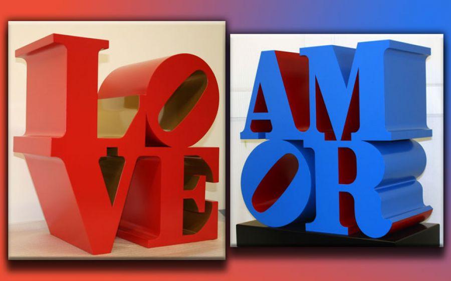 LOVE. L'arte contemporanea incontra (e celebra) l'amore. Chiostro del Bramante, autunno 2016