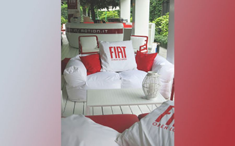 Aperitivo live da Fiat Open Lounge