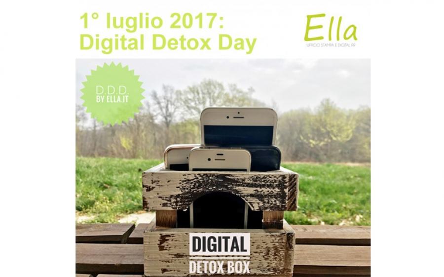 Digital Detox Day by Ella, a luglio la prima giornata offline