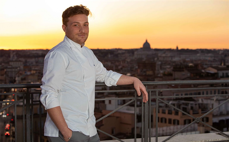 """The best Rooftop Restaurant in town, """"The Flair"""" di Roma"""