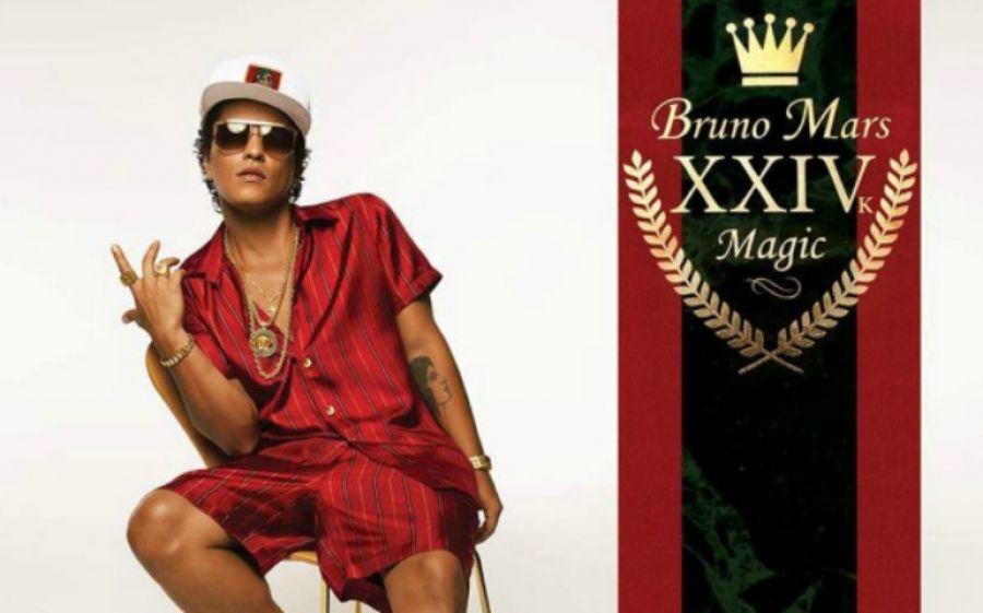 24k Magic World Tour 2017 di Bruno Mars, dal 21 novembre le prevendite