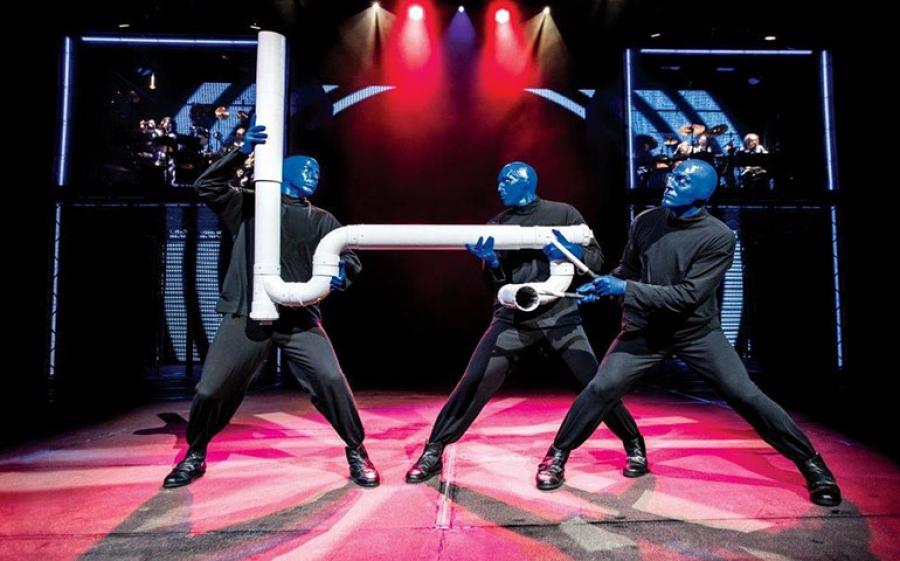 Blue Man Group: debbutta domani, 8 novembre, al Teatro Arcimboldi di Milano