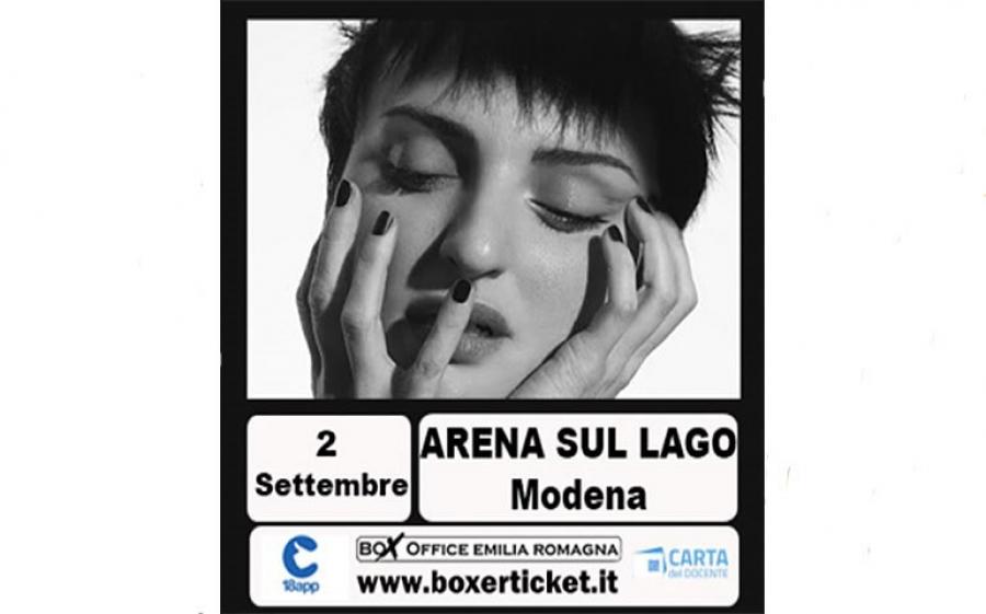 Arisa live a Modena