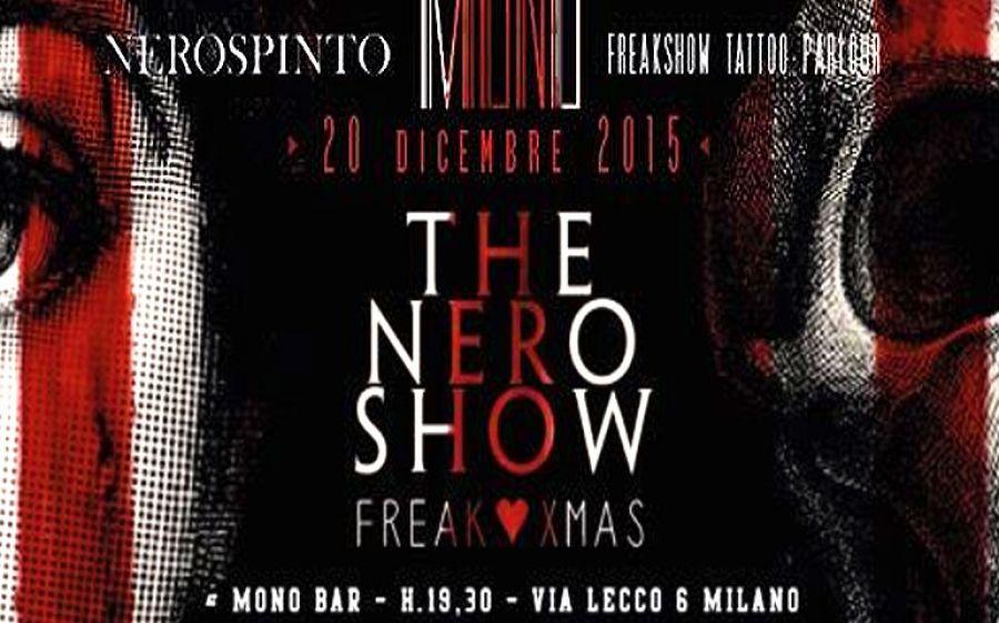 THE NERO SHOW - Freak Xmas: Party @MONO Bar