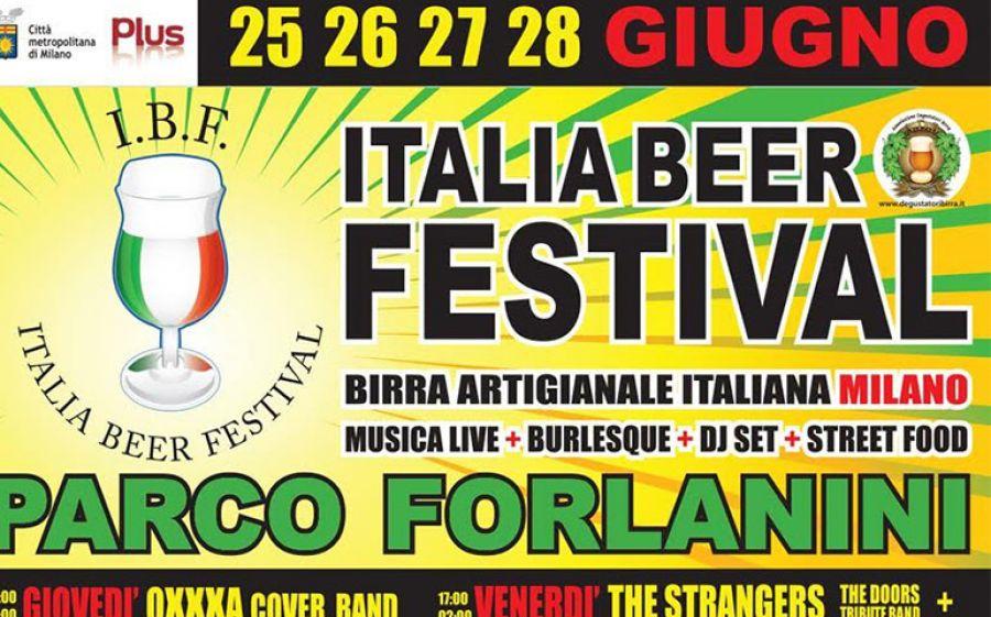 Dal 25/06 al 28/06: Italia Beer Festival al Forlanini