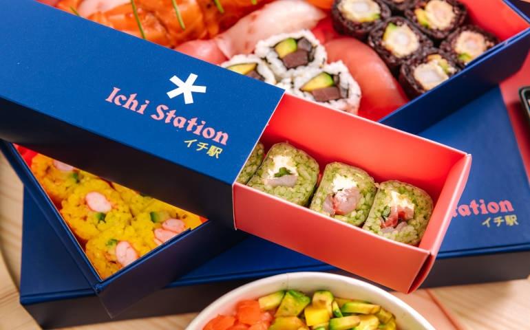 Ichi Station il sushi stellato da asporto firmato Haruo Ichikawa