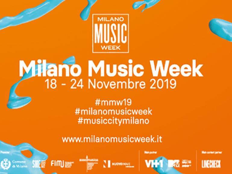 La Milano Music Week torna in città dal 18 al 24 novembre