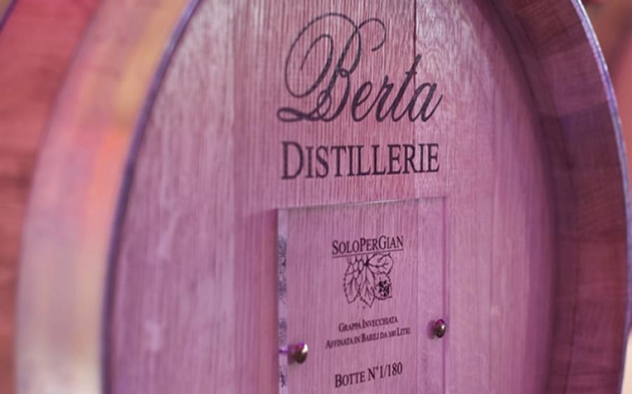Alle Distillerie Berta un corso gratuito di degustazione di grappe e distillati