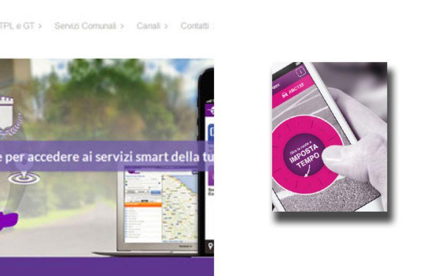 ATM e il parcheggio rapido via app
