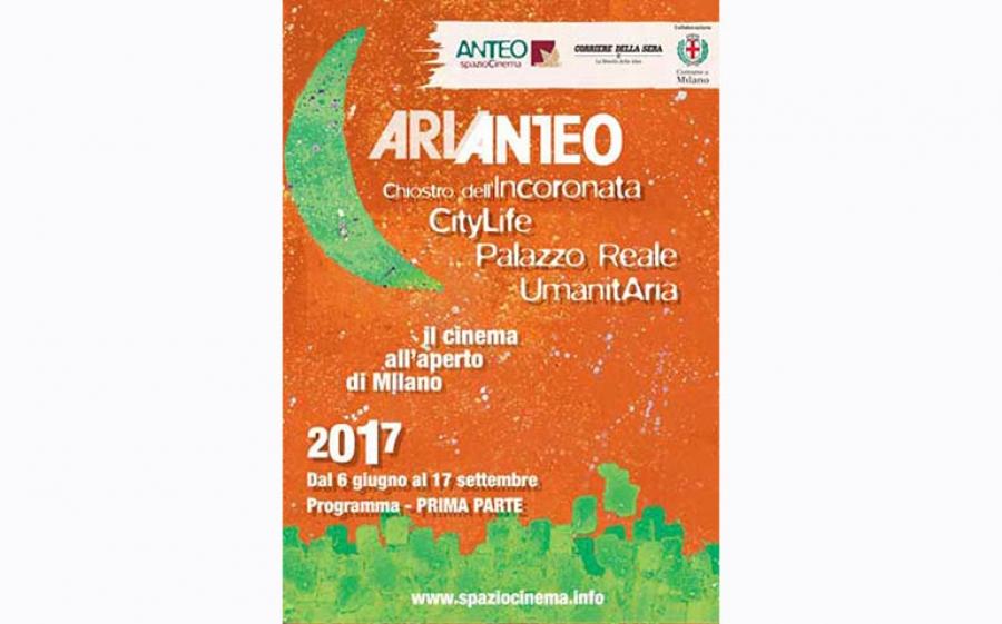 Arianteo 2017, il cinema all'aperto di Milano