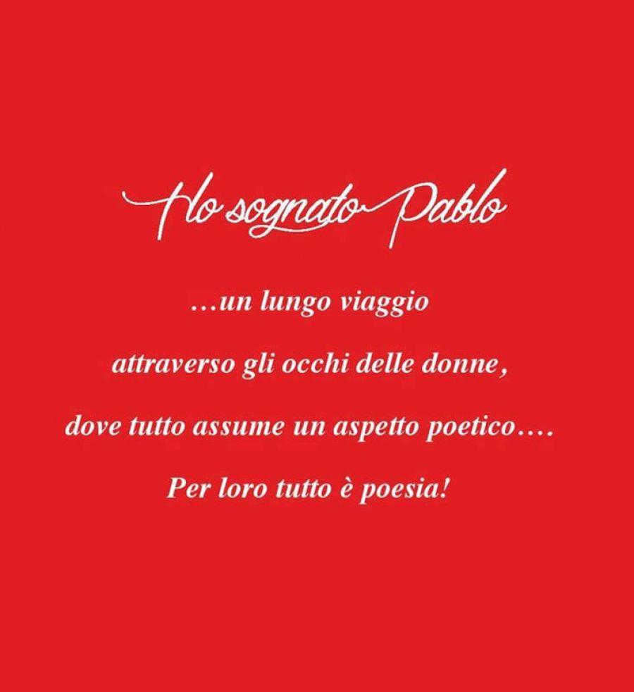 Ho sognato Pablo: il nuovo libro di Renata Di Leo