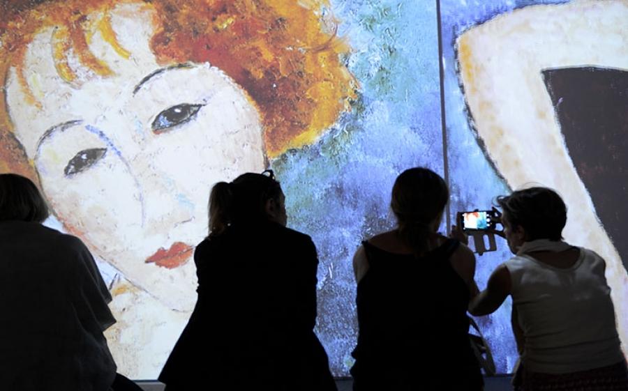 Modigliani Art Experience – Un tuffo nella vita e nell'opera di Modigliani