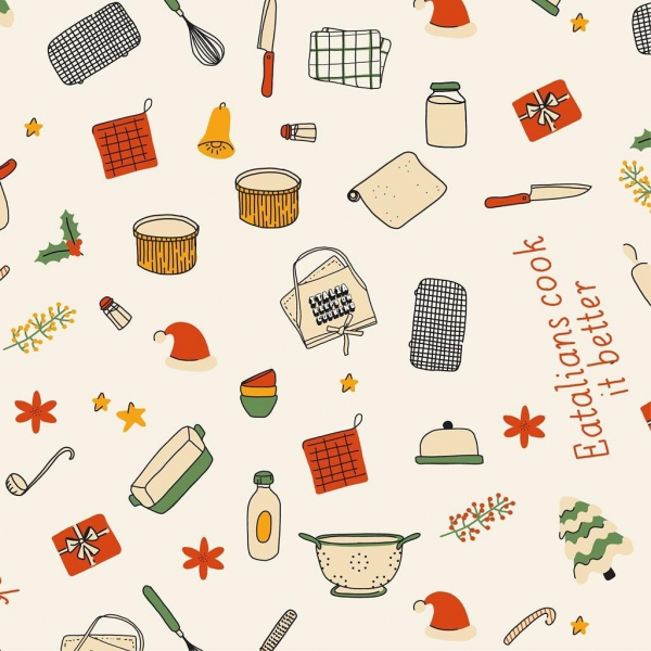 Il calendario dell'avvento degli chef di Italia Keeps On Cooking with Eataly|||