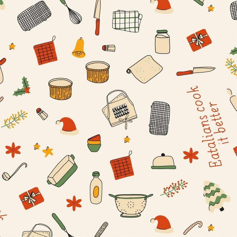 Il calendario dell'avvento degli chef di Italia Keeps On Cooking with Eataly