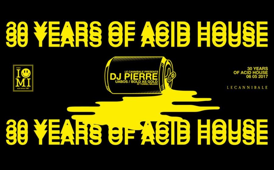 DJ Pierre festeggia 30 anni di carriera al Tunnel Club
