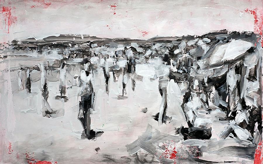 Appartenenza e distanza. L'artista italo-congolese Veggetti Kanku alla Galleria Rubin
