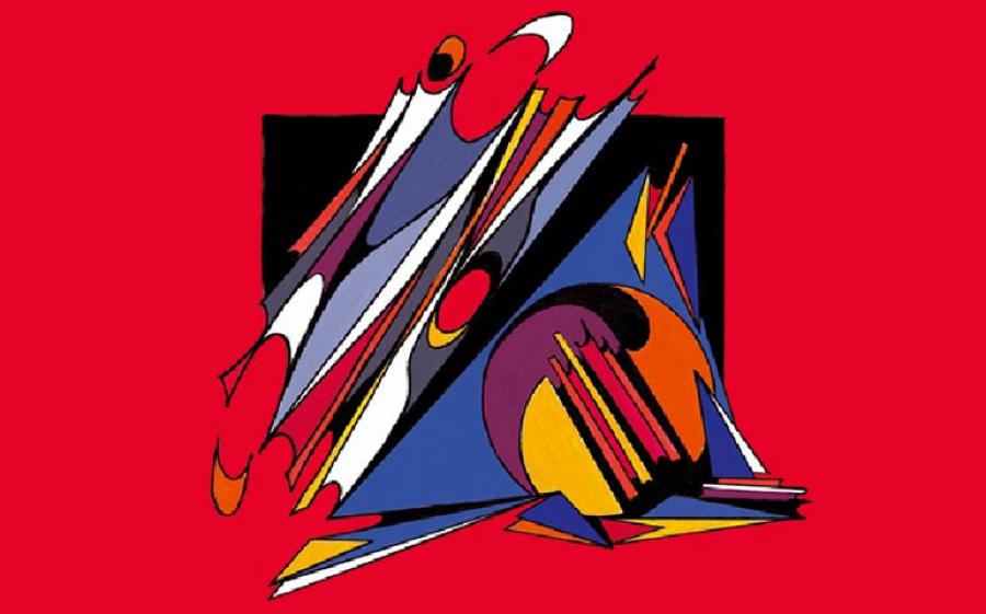 Roberto Plevano. Il riverbero delle grida tra le linee e i geometrismi: poesia ridata alla vita con il colore.